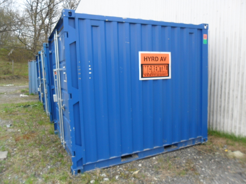 Container förrådscontainer 8 fot